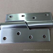 Hinger porte en verre bronze de haute qualité avec garantie 36 mois