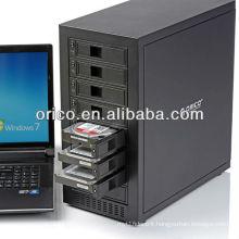 ORICO 8-bay 3.5'' tool free SATA HDD external enclosure; USB3.0 HDD enclosure,support 24 TB