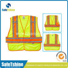 Breathable Adults Jackets yellow high visibility