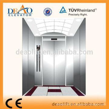 Elevador de Passageiros com piso de mármore sem sala de máquinas