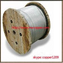 Hilos de alambre de acero revestido de zinc