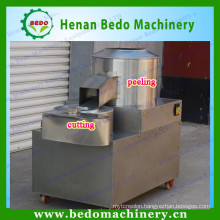 potato chips cleaning peeling and cutting machine / potato cutting and peeling machine