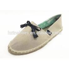 Мягкая повседневная обувная конская шерсть хорошего качества женская обувь espadrille