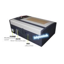 40W 3040 CO2 laser engraving machine DSP Ruida motherboard