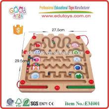 Hochwertiges hölzernes Labyrinth-Spiel