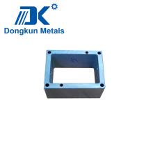 Cubo de mecanizado CNC de acero inoxidable