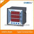 DM72-PQH medidor de combinação digital trifásico