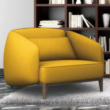 Fancy Style New Design Home Furniture Living Room Single Sofa