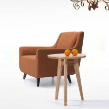 Holz Stoff Sofa Stühle mit neuen Design