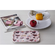 100% Melaimine Dinnerware - Tray with Ear /Melamine Tray (QQ9009)