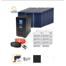 10KW Off Grid Solar Home System