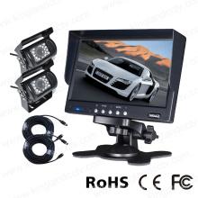 7 Zoll Digital Monitor mit 2PCS Kameras Rückansicht System