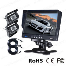 7 Inch Digital Monitor with 2PCS Cameras Rear View System