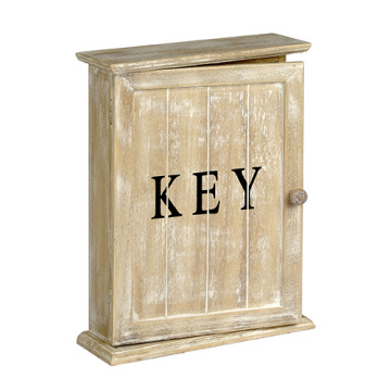 Retro wooden key box