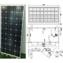 18V 140W 145W monokristallines Solarmodul-PV-Modul mit Ce genehmigt