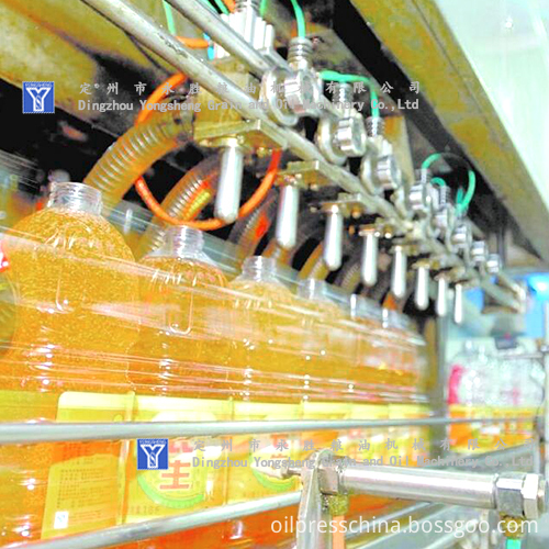 sesame oil filling Machine