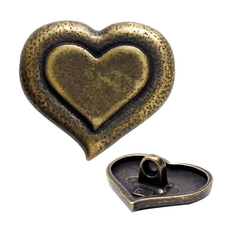 Fashion High-Grade Metal Button Embellishments