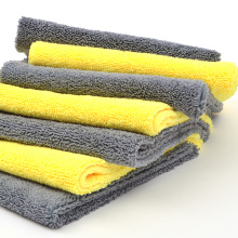 Super Absorbent Warp Knitting Microfiber Washcloth Towels