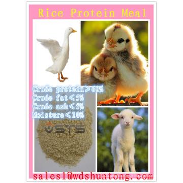 Aliments pour animaux de repas de protéines de riz