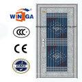 Hochwertige Edelstahl-Sicherheits-Glas-Tür ((W-GH-19)