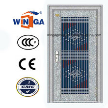 Heißer Verkauf 304 Edelstahl-Sicherheit Eingangstür (W-GH-17)