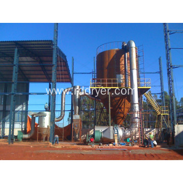 LPG Spray Dryer for maltodextrin production