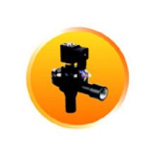 Válvula de jato de pulso de corpo de alumínio com cor preta (RMF-Z-20A)