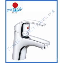 Torneira de lavatório de lavatório único na torneira da bacia (ZR20602)