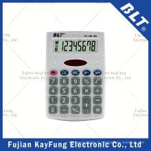 Calculateur de taille de poche à 8 chiffres pour la maison (BT-102)