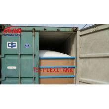 Suministro a granel líquido flexitank/flexibag empaquetado
