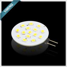 Redondo 2.5W 15pcs 2835SMD G4 LED luz