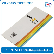 Profession printing good quality soft cover 4C magazine/ lamination spiral magazine printing book