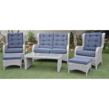 Wicker Lounge Outdoor Patio Furniture Rattan Garden Sofa Set
