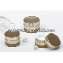 Cosmetic Acrylic Cream Jar 2ml 5ml 10ml 15ml 20ml 30ml 50ml 100ml 150ml 300ml