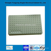 Direct factory top quality iso9001 oem custom round hole perforated iron