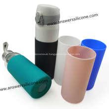 Customized Silicone Reusable Wine Bottle Cover SleeveSheath
