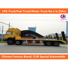 Cargo Transport 40ft Dongfeng 8 * 4 Flachbett Transport Trucks