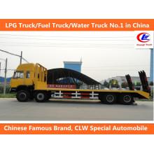 Transporte de Carga 40ft Dongfeng 8 * 4 Camiões de Transporte Flatbed