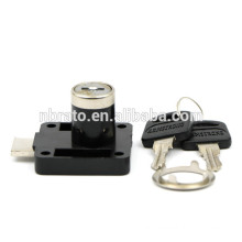 Low Price 40mm Small Furniture Black Finish Lock