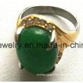Fashion Black Stone Jewelry Pendant Casting Ring