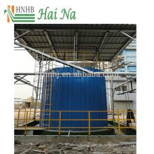 Purificador de tratamento de gases de combustão para remoção de poeira
