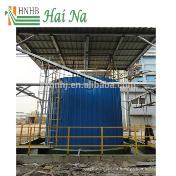 Depurador de tratamiento de gases de combustión para quitar el polvo