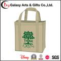 Bolso no tejido reciclable del regalo del diseño de encargo de Eco