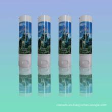Aluminio y plástico laminado tubo de champú