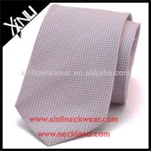100% Cravate tissée à la main de minion tissé de jacquard de noeud parfait