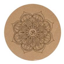 cork yoga mat  rubber premium yoga mats Meditation  Anti-slip yoga mats