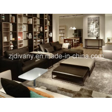 European Style Home Sofa Living Room Leather Sofa Furniture (D-74)