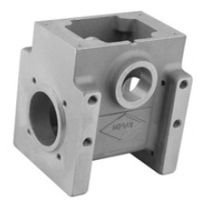 Die Casting and Machining Aluminum Pump Body with Zinc-Plated Surface