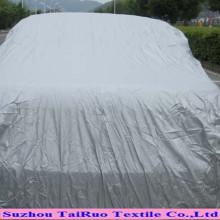 Poly taffetas avec revêtement de ruban pour couverture de voiture