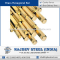 Best Quality Brass Hexagonal Bar Available for Export